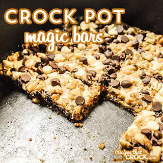 Crock Pot Magic Bars.