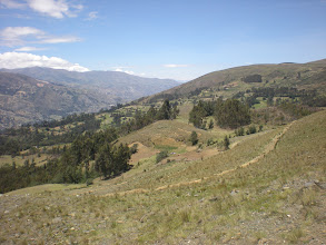 Photo: View to the right of to the right of Huaraz.