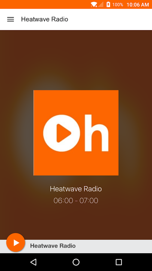 Heatwave Radio- screenshot
