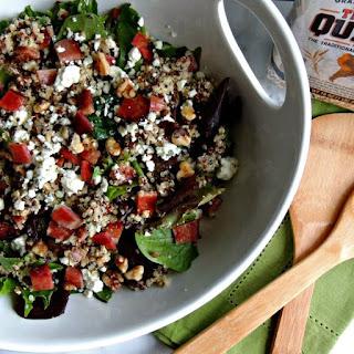 Bacon Blue Cheese Quinoa Salad {Gluten Free}