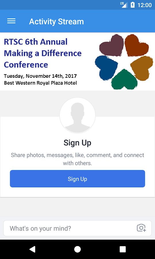 RTSC 2017 Conference- screenshot