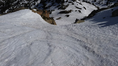Photo: haut du premier couloir