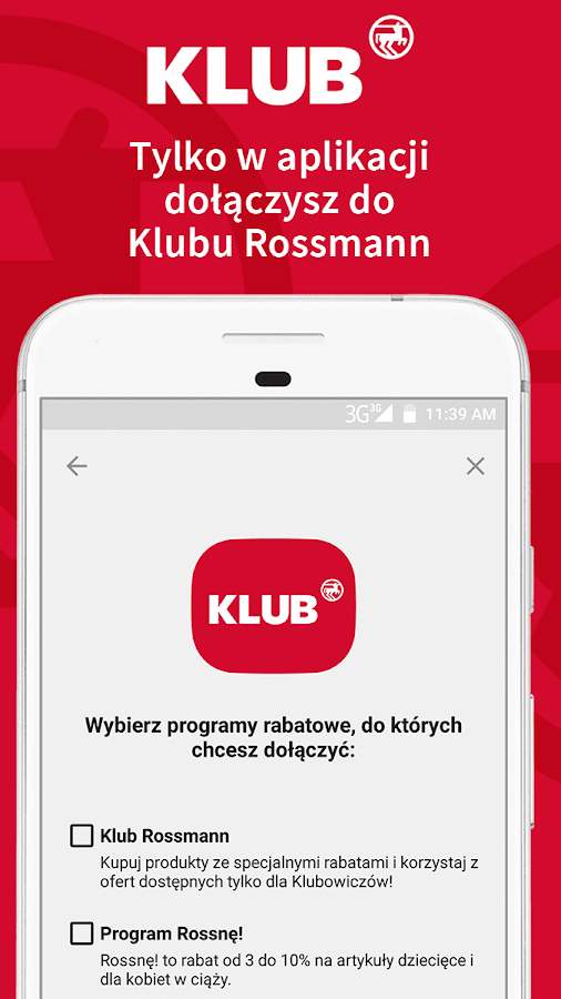 Rossmann PL- screenshot