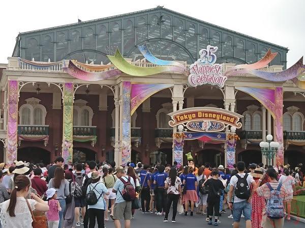日本紀行:東京迪士尼35週年 @ Tokyo Disneyland