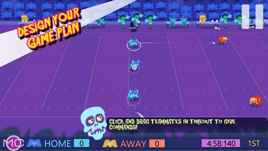 Monday Night Monsters Football Screenshot 1