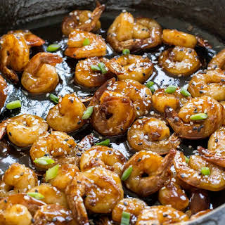 Easy Hoisin Shrimp.
