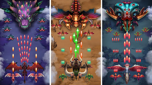 Dragon shooter - Dragon war - Arcade shooting game  screenshots 9