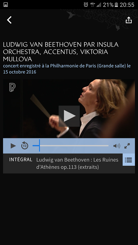 Philharmonie Live- screenshot