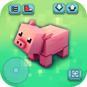 Animals craft block world exploration pet games for Crafting and building app store