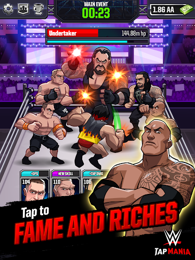 WWE Tap Mania: Get in the Ring in this Idle Tapper 17637.20.0 screenshots 6