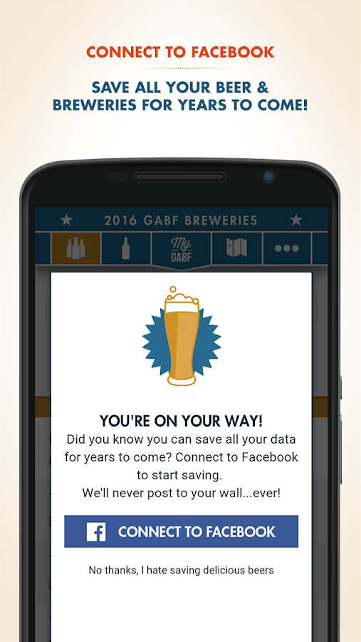 My GABF- screenshot