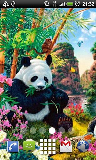 Panda Paradise Live Wallpaper