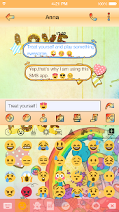 Emoji Keyboard - Cute Lollipop - náhled