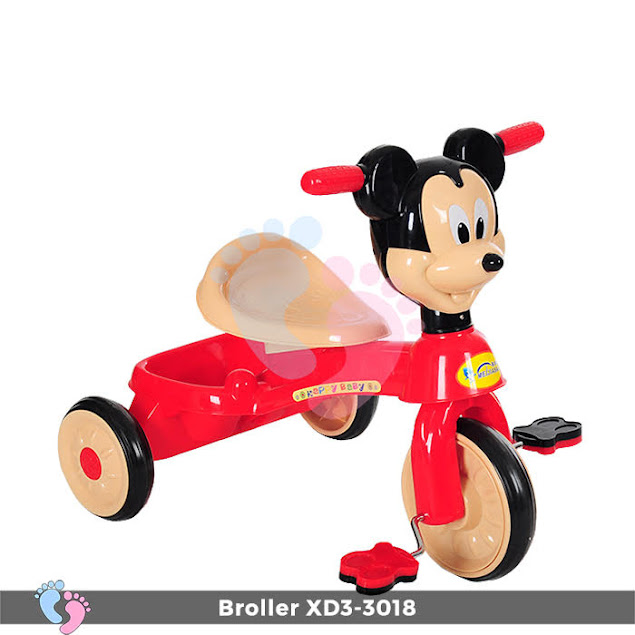 xe đạp ba bánh chuột mickey cho bé