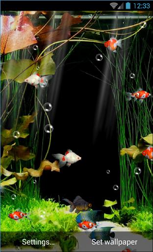 Aquarium Live Wallpaper Free  screenshots 1