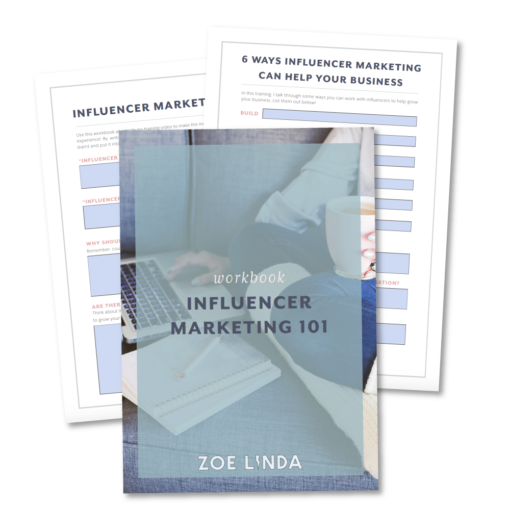 Influencer 101 - Influencer Marketing Outreach Strategy Free Workshop