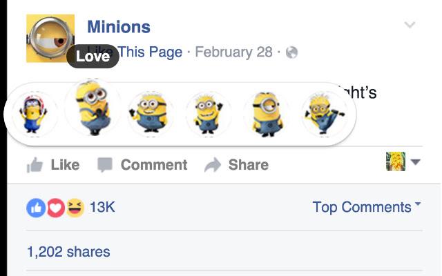 Minion Reactions