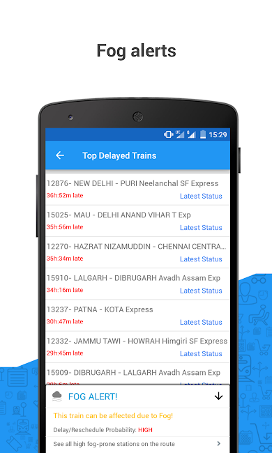 #4. PNR Status & Indian Rail Info (Android)