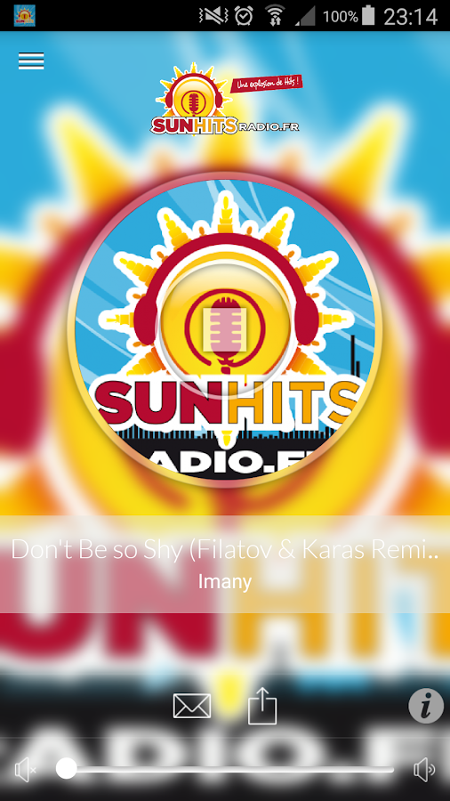 Sun Hits Radio Officiel- screenshot