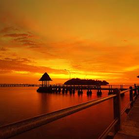 Mananti malam di carocok by Gery Arsuma - Landscapes Sunsets & Sunrises ( pantai carocok painan )