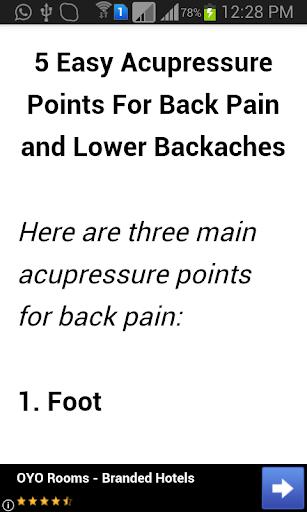 Acupressure Points Guide 1.3 screenshots 5