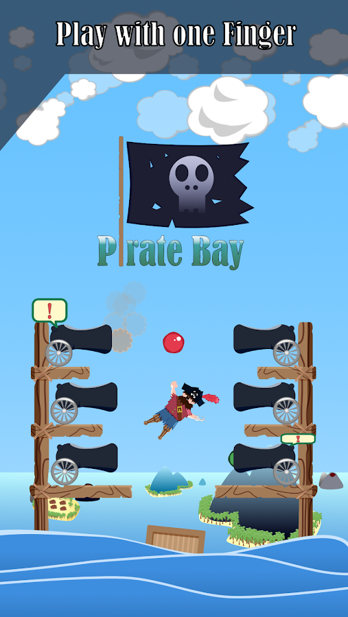Pirate Bay (The Hardest Pirate Game on Playstore)- screenshot