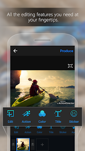 ActionDirector Video Editor - Edit Videos Fast Screenshot