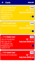 Screenshot of Central CU Mobile Banking