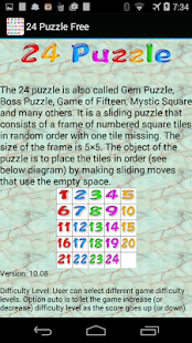 24 Puzzle Free - screenshot thumbnail