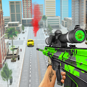 Police Sniper Gangster Crime City Shooting Game MOD APK 5 (Dumb Enemy)