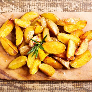 Homemade Potato Wedge-Style Fries