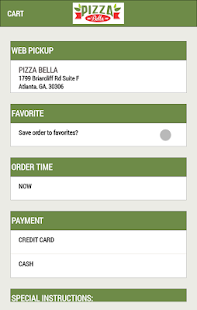 Pizza Bella Emory- screenshot thumbnail