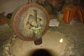 Photo: Day 136 -  Millstones to Grind the  Spices for Medicines and Toiletries