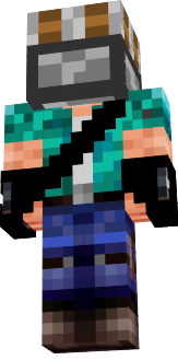 If you play Minecraft with this skin, and you turn off the hat, YOU WILL BE HEROBRINE!!!!