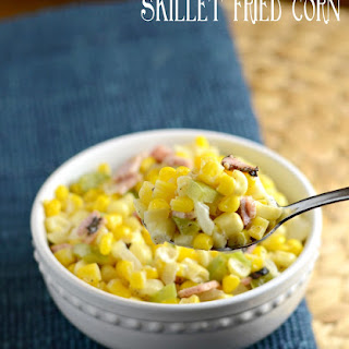 Skillet Fried Corn {A Perfect Side Dish}