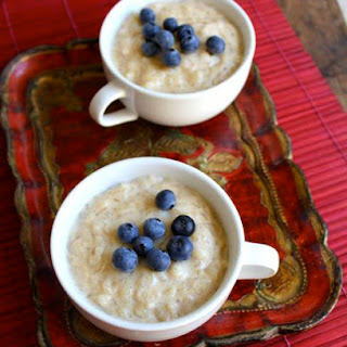 Creamy Vanilla Rice Pudding (vegan and gluten free)