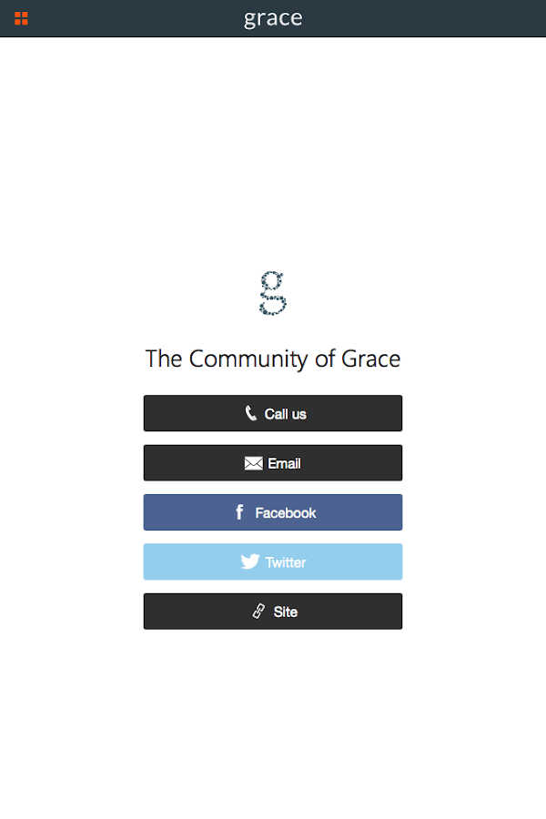 The Community of Grace- screenshot