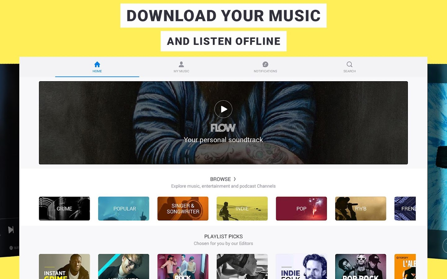 Deezer Music Player: Stream any Song or Playlist- screenshot