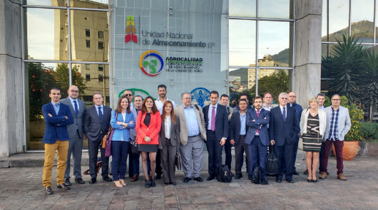 Visita comercial de la industria auxiliar andaluza a Ecuador