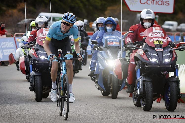 """Winnaar op Ventoux klimt ook mee met besten op Angliru: """"Kwam bij groepje Carapaz, hoop dat er nog meer in zit"""""""