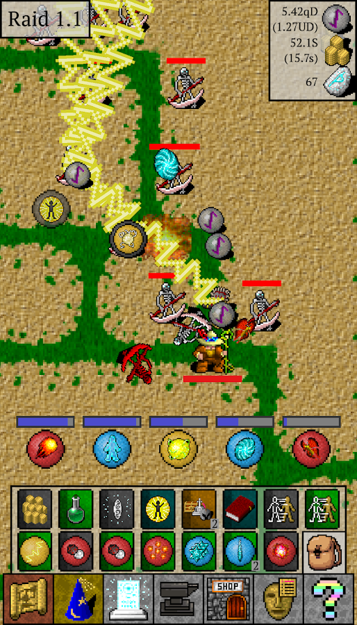 Idle Mage Attack- screenshot