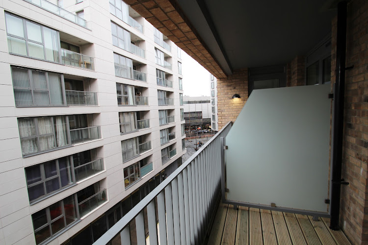 Balcony at Fusion Court Apartment