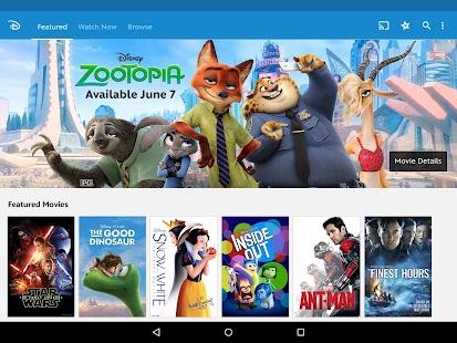 Disney Movies Anywhere- screenshot thumbnail