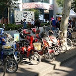 mopeds in Shanghai in Shanghai, Shanghai, China