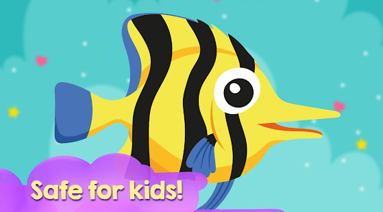Fish puzzles game for kids - náhled