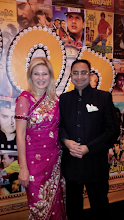 Photo: MP Bonnie Crombie with Husain Neemuchwala, CEO, CIEC  http://canadaindiaeducation.com/introduction/media-outreach
