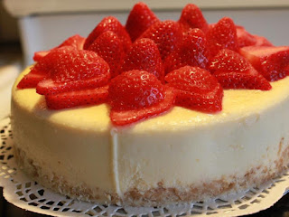 Coconut Strawberry-rum Cheesecake Recipe
