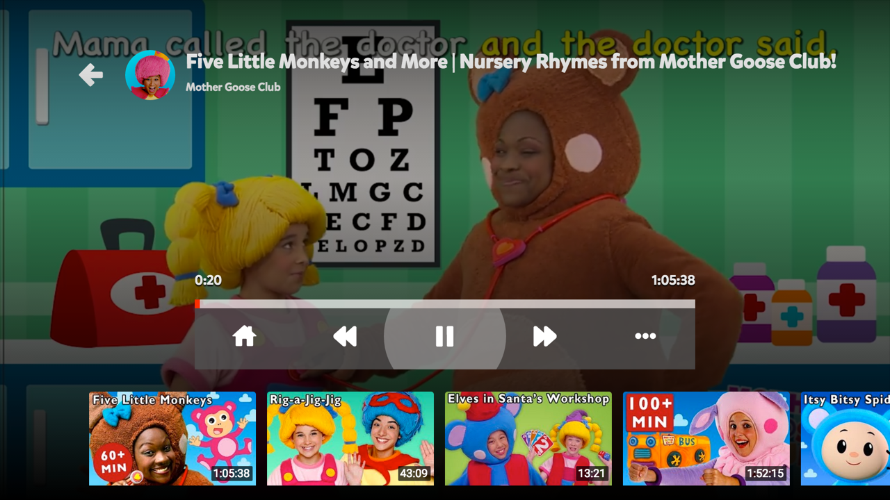 YouTube Kids for Android TV- screenshot