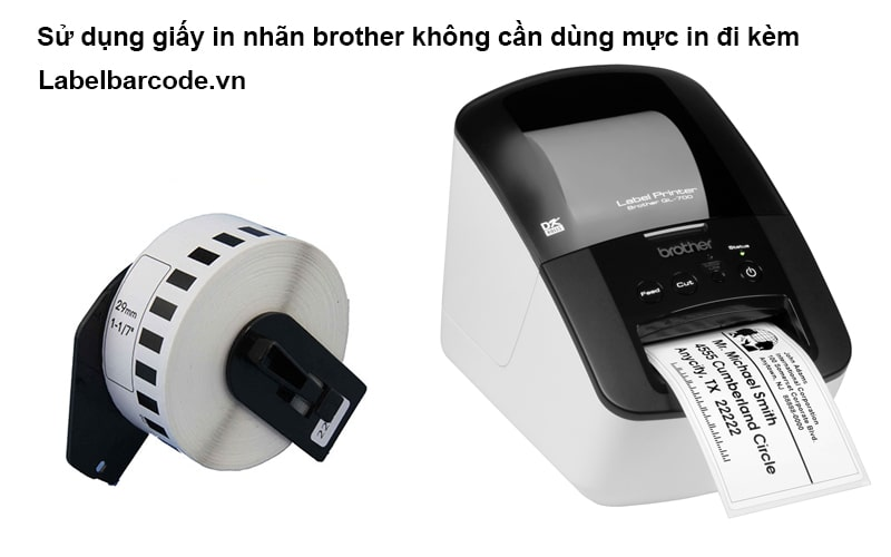 Máy in nhiệt Brother QL700