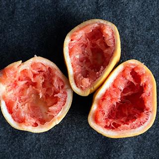 Mint & Grapefruit Sorbet.